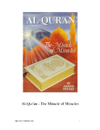 Al Qur 039 an The Miracle of Miracles