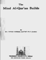 كتاب THE MIND AL QUR 039 AN BUILDS pdf
