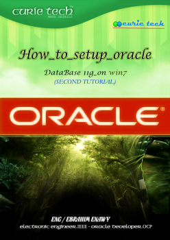 HOW TO SETUP ORACLE 11G.
