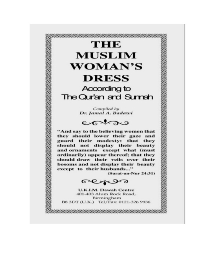The Muslim Woman 039 s Dress According to The Quran and Sunnah