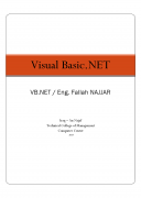 كتاب Visual Basic.NET pdf