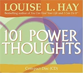 101 Power Thoughts by Hay, Louise L. Unabridged Edition (2004)