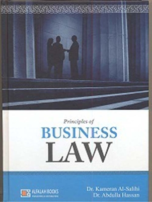 Principles of business law for business studies students