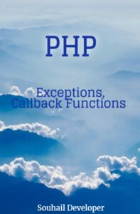 PHP Exceptions,Callback Functions pdf