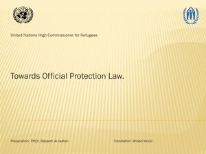 Towards Official Protection Law pdf