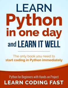 Learn Python in a one-day Learn Python in One Day