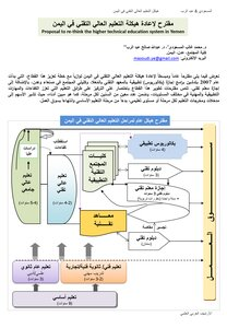 The structure of higher technical education in Yemen: a glance